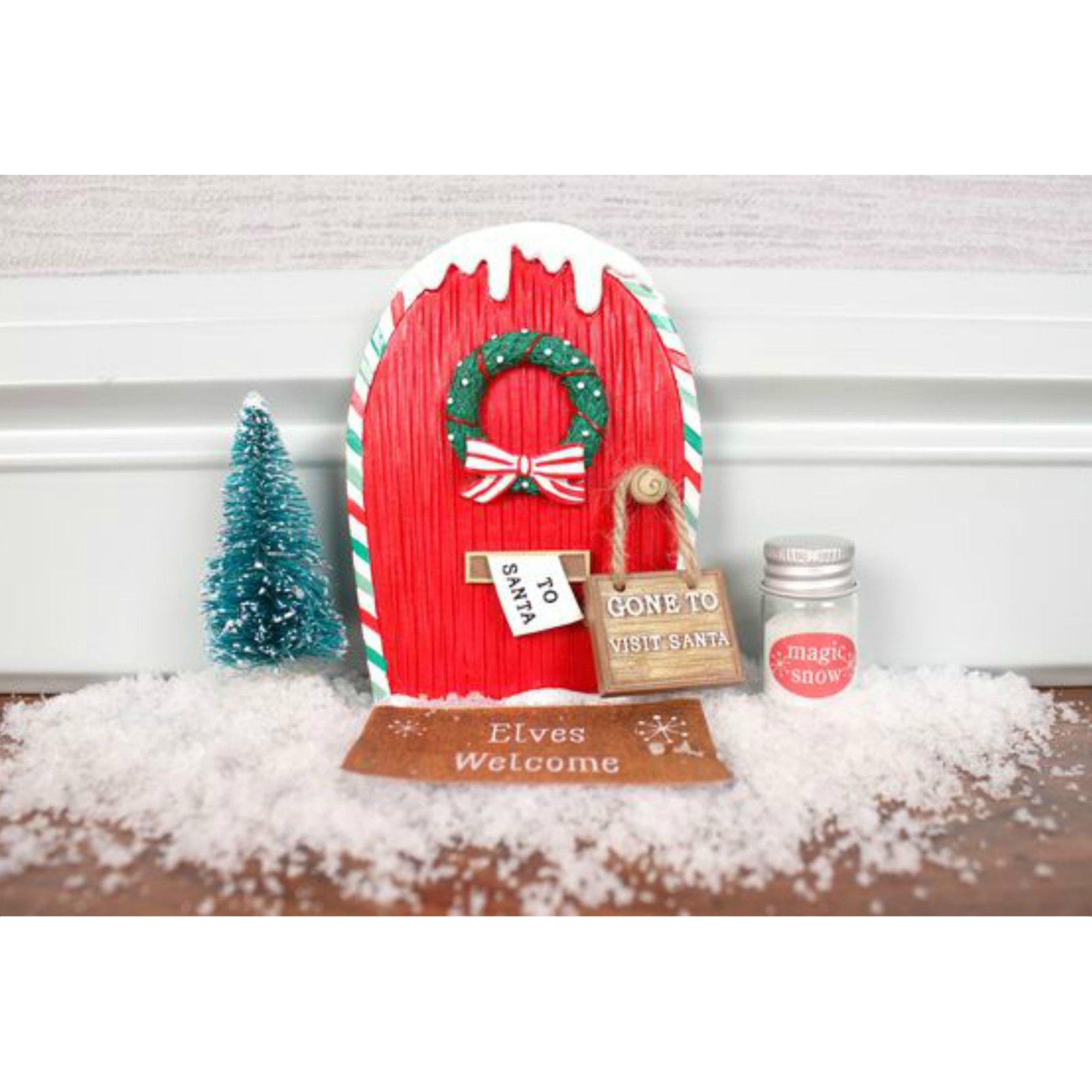 Little elf door and accessories gift box pazazz online for Elf door and elf